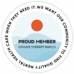 the official logo of Denver Therapy Match