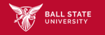 the official logo of Ball State University